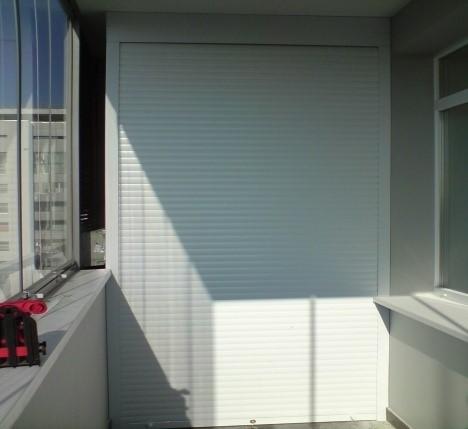 Рольставни на балкон купить в москве недорого!.